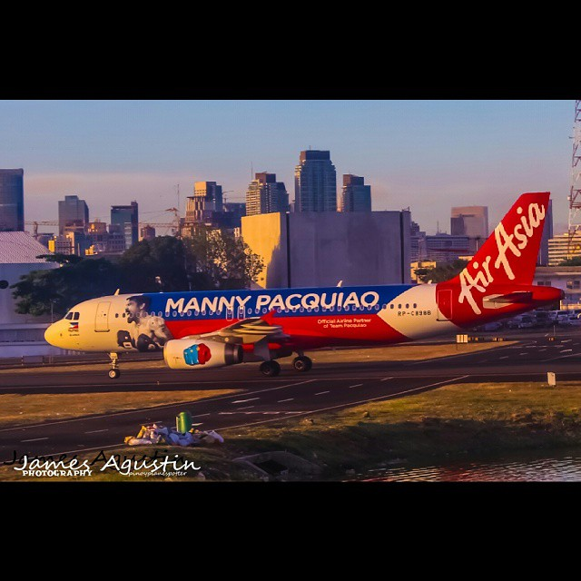 Goodluck Manny Pacquiao!!! 👊👊👊👊👊 #oneforpacman  #mannypacquiao  #fightofthecentury #airasia #airasiazest #planespotting #pinoyplanespotter #aviation #planeporn #planespotter #instaaviation #instagramaviation #airplane #instap