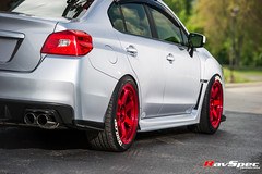 "RAYS TE37SL Hyper Red - Subaru WRX 15 • <a style=""font-size:0.8em;"" href=""http://www.flickr.com/photos/64399356@N08/17841251816/"" target=""_blank"">View on Flickr</a>"