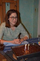 DSC_7937 (jjldickinson) Tags: nikond3300 102d3300 nikon1855mmf3556gvriiafsdxnikkor promaster52mmdigitalhdprotectionfilter wrigley dessert cake birthdaycake candle ellendickinson longbeach