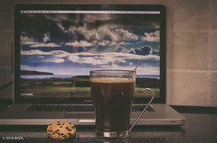 7 Days A Week! (BGDL) Tags: kitchen rituals chocolatechipcookies odc niftyfifty macbookpro nikond7000 bgdl afsnikkor50mm118g cupofblackcoffee lightroomcc
