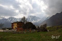 Rifugio La Guardia - Veneto Italy! (Biagio ( Ricordi )) Tags: italy mountain nuvole neve laguardia rifugio veneto rifugi