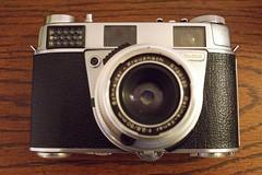 Kodak Retina IIIS (nrparsons) Tags: kodak sony rangefinder retina iiis schneiderkreuznach a6000 sigmasuperwide24mmf28sigma