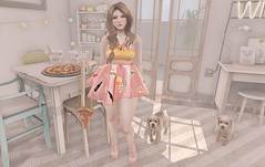 Come Dine With Me (Bishybaby) Tags: yummy olive breathe sorbet whimsical ionic vco fawny darkpassions halfdeer happyundead justmagnetized nefariousinventions darkpassionkoffinnails