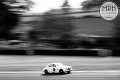 Glenn Pearson - Jaguar Mk1 (MPH94) Tags: auto park ireland white black west cars cup sports monochrome car sport race canon championship cheshire glenn north may racing british motor 50s jaguar gt 50 challenge motorracing inc innes pearson motorsport 70300 xk 500d oulton mk1