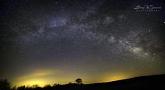 Celestial Arc (Larry W Brown) Tags: nightphotography nightscape astrophotography bigmeadows milkyway shenandoahnationalpark greatrift milkywaypanorama milkywayarc