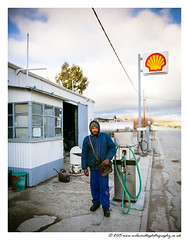 Ricardo - A Petrol Pump Attendant in Sutherland, a rural town in the Northern Cape. (Wil Wardle) Tags: street portrait england canon photography britain shell streetphotography streetportrait sutherland f28 northerncape streetstyle adobelightroom britishphotographer 5dmk3 wilwardle ebphoto canonef2470mmmk2 meetingrealsouthafricans