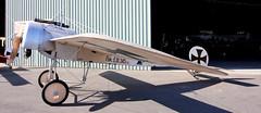 Fokker E.III (CanvasWings) Tags: history vintage airplane aircraft aeroplane ycab fokker eiii tavas caboolture eindecker greatvintageflyin thegreatvintageflyin