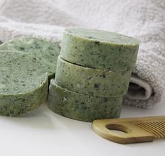 (nonna-smetanina) Tags: green soap natural handmade shampoo organic spirulina        nonnasmetanina