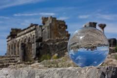 Volubilis (Marocco) (Algol69) Tags: reflection ball crystal morocco sphere marocco volubilis riflesso sfera