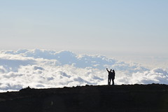 Selfie on top of the world (s.statham) Tags: clouds hawaii haleakala selfie abovetheclouds