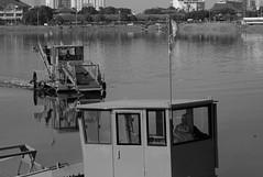 L9991674bw (ferry160102) Tags: bw waduk pluit keruk