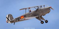 B 131 (Ignacio Ferre) Tags: madrid airplane nikon aircraft military airshow avin fio lecu jungmann cuatrovientos bckerb131jungmann spanishairforce fundacininfantedeorleans bckerb131