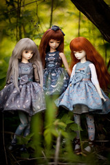 the forest tales (koroa) Tags: blue doll may sally fairy lolita bjd daydream mori msd tf bluefairy