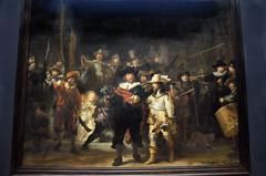 Rijksmuseum Nachtwacht (Piet Bink (aka)) Tags: art schilder amsterdam schilderij exhibition fotos moderntimes rijksmuseum rembrandt nightwatch tentoonstelling nachtwacht kuns olieverf