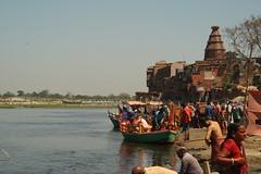 """Chir Ghat"", at Vrindavan, Mathura (ilovethirdplanet) Tags: india river waterfront mathura ind uttarpradesh"