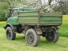 MB Unimog Kipper (Vehicle Tim) Tags: truck mercedes kipper oldtimer mb unimog fahrzeug lkw