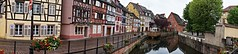 COLMAR (Philippe Haumesser Photographies) Tags: street city flowers trees panorama france water fleurs reflections river outside eau sony rivire colmar arbres alsace rue reflets ville elsass 68 panoramique pavements pavs colombages 2016 hautrhin halftimberings hibryde sonyalpha6000 sonyilce6000