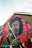 Excuse Me While I Kiss the Sky (Georgie_grrl) Tags: musician streetart toronto ontario art graffiti cafe expression creative pentaxk1000 coffeehouse jimihendrix guitarist ossingtonavenue rikenon12828mm jimmyscoffee springshootingshenanigans
