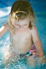 Splashing water (~ Maria ~) Tags: toddlerlife toddler poolparty childrensswimmingpool splashing waterfun sunnyday june 2016 nikond800 sigma150mm summer splashingwater