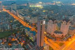 From Keangnam Building (phuong0304p) Tags: city longexposure blue light building skyline landscape long exposure cityscape cityscapes hour bluehour hanoi cityskyline hanoiskyline