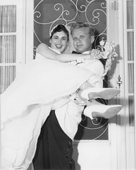 (Jeffrey Guterman) Tags: wedding blackandwhite bw newyork robert bride joyce 1957 jeffrey newlywed greatneck guterman jeffreyguterman