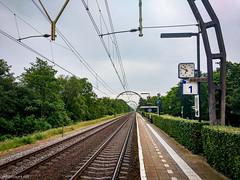 NS station Hollandsche Rading (ednl) Tags: netherlands june juni spring utrecht nederland hike nl lente wandeling 2016 provincieutrecht hollandscherading adobelightroom utrechtprovince motorolamotog3