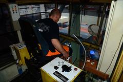 Crane operator (DST_1637) (larry_antwerp) Tags: 9210086 celinastar cmacgm psaterminal container antwerp antwerpen       port        belgium belgi          schip ship vessel
