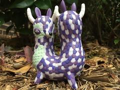Look Both Ways (welovethedark) Tags: green purple kidrobot twoheads iphone arttoys vinyltoys vinylarttoys iphonephoto horribleadorables jordanelise tangledtwins