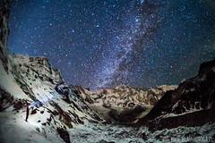 ABC noc (www.wlasnadroga.pl) Tags: nepal himalya abc annapurna wlasnadroga trekking