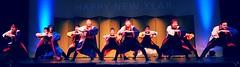 Soran Bushi (Sakuramai Toronto) Tags: show blue red people music orange toronto color girl festival pose japanese dance costume live stage group performance indoor dancer newyear indoors  yosakoi jccc  ilovejapan        tolife