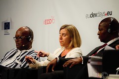 Federica Mogherini, High Representative of the European Union for Foreign Affairs and Security Policy and Vice-President of the European Commission - EDD 2016 (8) (Durickas) Tags: edd edd2016 europeandevelopmentdays brussels tourtaxis federicamogherini highrepresentative europeanunionforforeignaffairsandsecuritypolicy vicepresidentoftheeuropeancommission mogherini