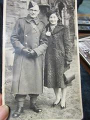 In uniform IMG_2270 (tomylees) Tags: old bw photo george vinnie