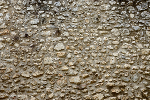 Texture della parete del castello, Celano