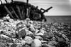 Shipwreck (Rickard_fristedt) Tags: ocean sea blackandwhite bw beach contrast coast nikon swiks nikond750