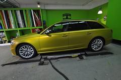 Audi S6 Avant в виниле от Print Tech