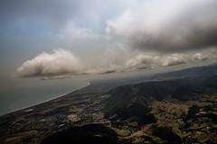 Gliding (thenorthernmonkey77) Tags: newzealand sky beach clouds canon skyscape bay coast flying wings flight nz wellington gliding dslr glider kapiti arial sigma1770mm