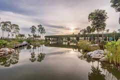 Парковая зона в Малайзии по проекту Garis Architects
