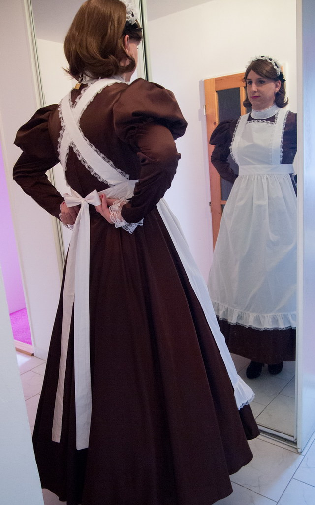 Spanking french maids