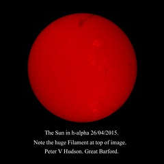 """The Sun in HA by PETER HUDSON • <a style=""""font-size:0.8em;"""" href=""""http://www.flickr.com/photos/74627054@N08/17094970177/"""" target=""""_blank"""">View on Flickr</a>"""