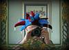 April Fool (alphazeta) Tags: blue me mirror april claret astonvilla aprilfool claretandblue jestershat astonvillacolours
