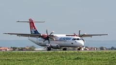 Air Serbia ATR72 YU-ALT (Kris SD) Tags: belgrade beg atr72 lybe airserbia yualt