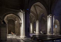 Monasterio Santa Maria la Real de Aguilar_redu (Blanco Carlos) Tags: santa real luces maria aguilar nocturna sombras monasterio monje patrimonio religiosos campoo