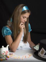 Valeria In Wonderland (Mark Ellis2) Tags: alice eatme wonderland aliceinwonderland lewiscarroll