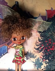 Blythe-a-Day May#25: Nature: Lola on The Beauty of Nature in Art