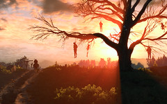 Hanged Man's Tree (sinister.sinner) Tags: wild 3 landscape screenshots gaming fantasy rpg hunt witcher sweetfx cdpr witcher3