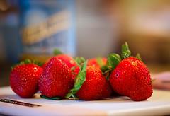 simple pleasures (desertdragon) Tags: sanfrancisco macro strawberries leslie