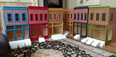 1/6 scale Street of Dreams project (Ken Haseltine Regent Miniatures) Tags: street brick buildings 16 diorama 16scalehouse