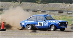 0014_John Verend rally (ladythorpe2) Tags: ford john memorial rally may racing tools stages peter laser mk2 40 15th escort airfield melborne jemma outram 2016 overend