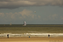 Belgian coast (Natali Antonovich) Tags: family sea portrait beach nature water childhood landscape boat seaside belgium belgique belgie seagull horizon lifestyle northsea romantic tradition relaxation oostende seashore seasideresort romanticism belgiancoast seaboard