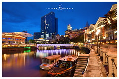 clarke quay (fiftymm99) Tags: river boat nikon singapore tourist d750 attraction clarkequay rivercruise fiftymm99